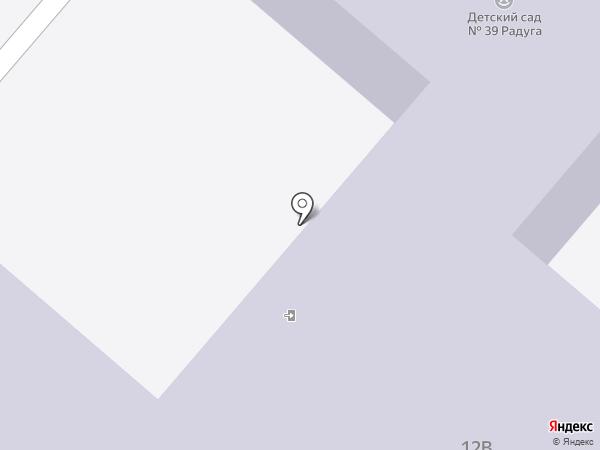 Детский сад №39, Радуга на карте Нижнекамска