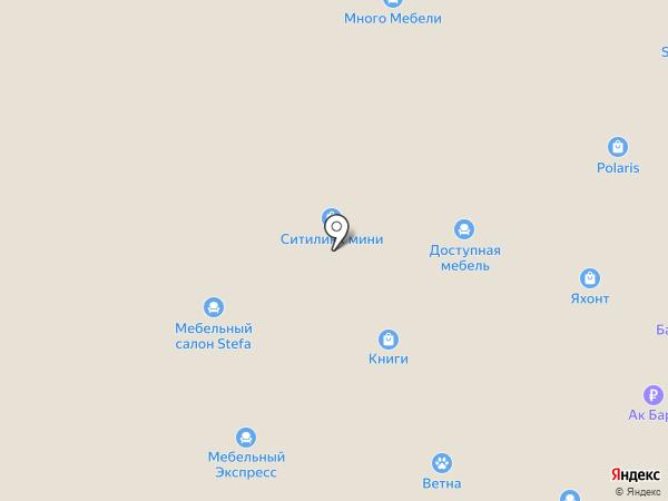 23 мебели на карте Нижнекамска