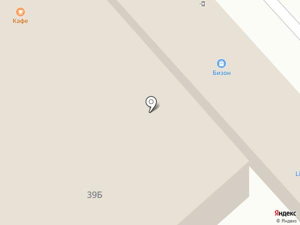 Бизон на карте Нижнекамска