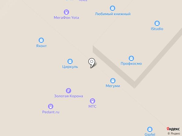 Акком на карте Нижнекамска