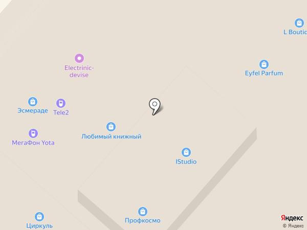 Резерв на карте Нижнекамска