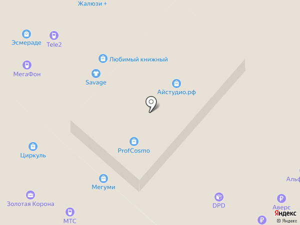 Магазин электронных сигарет на карте Нижнекамска