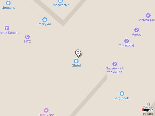 Банкомат, Тимер банк, ПАО на карте Нижнекамска