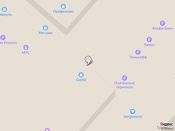 Банкомат, Банк Казани на карте Нижнекамска