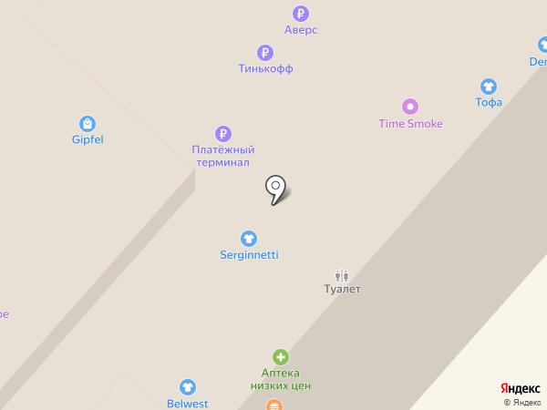 Van Cliff на карте Нижнекамска