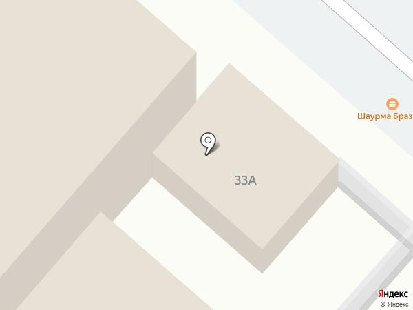 Шаурма Бургер на карте Нижнекамска