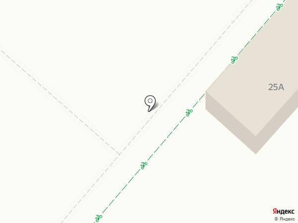 Баринъ на карте Нижнекамска
