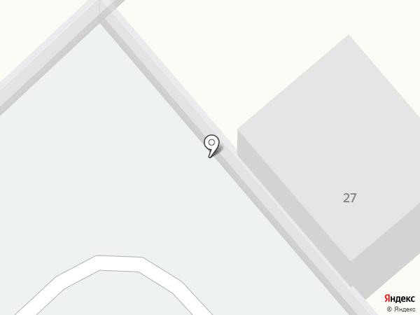 Автостоянка на Вокзальной на карте Нижнекамска