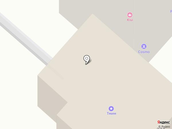 Аврора на карте Нижнекамска