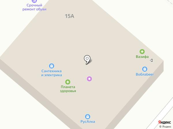 Добропек на карте Нижнекамска