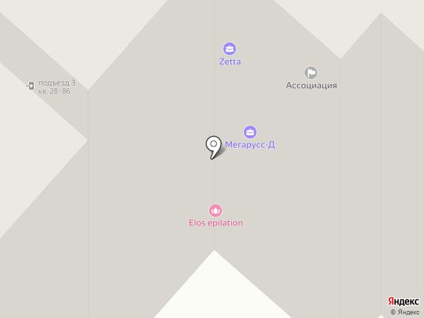 Метран на карте Нижнекамска