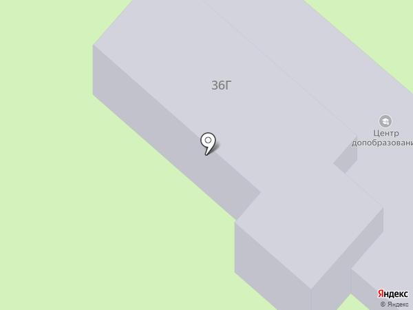 Центр дополнительного образования детей на карте Нижнекамска