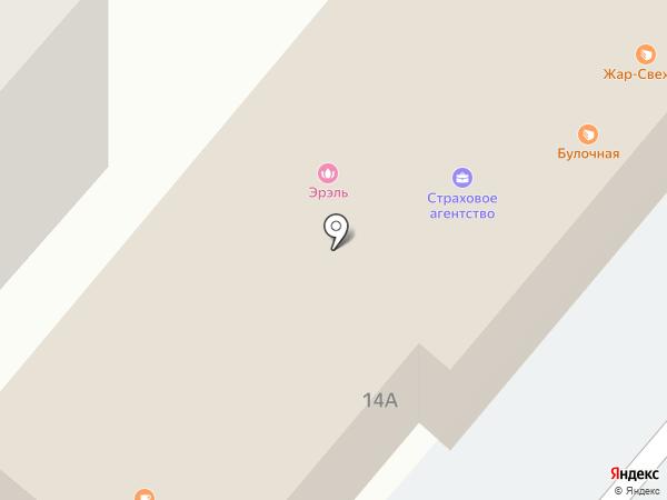 Копейка на карте Нижнекамска