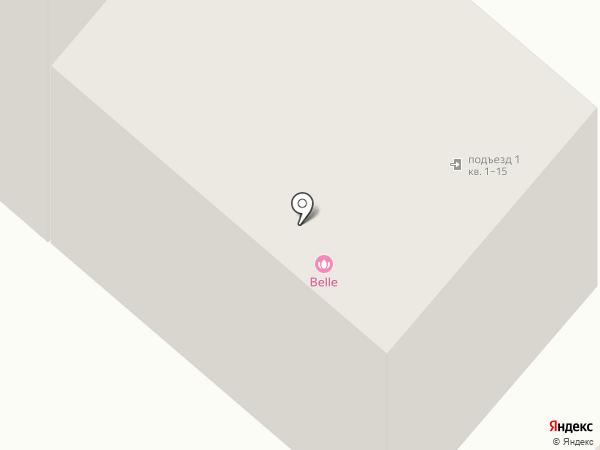 Belle на карте Нижнекамска
