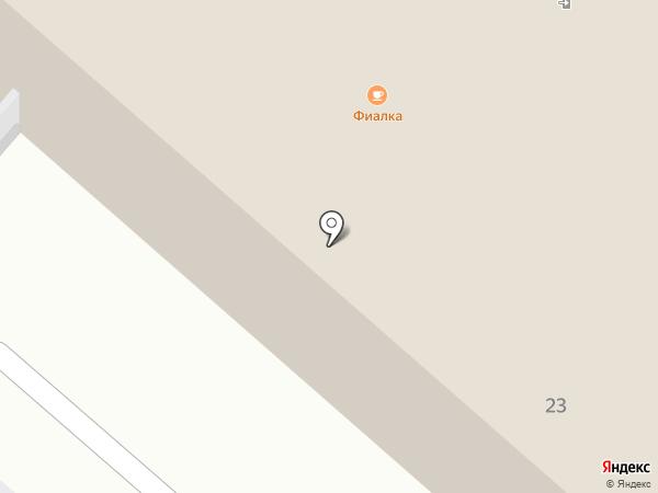 Фиалка на карте Нижнекамска