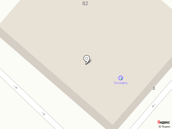 АЗС Tatneft на карте Нижнекамска