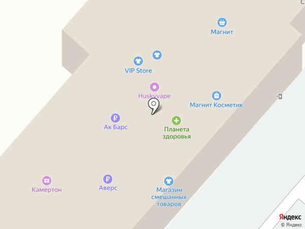 Моя Иномарка на карте Нижнекамска