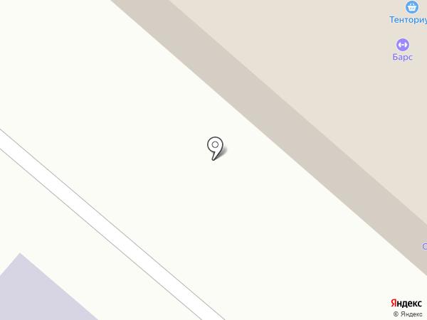 Тенториум на карте Нижнекамска