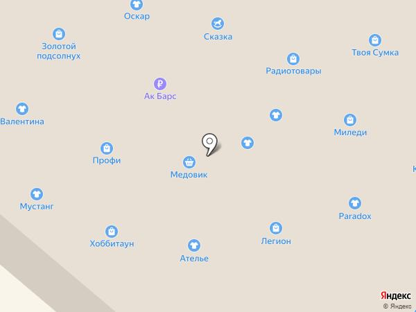 Оптика-НК на карте Нижнекамска