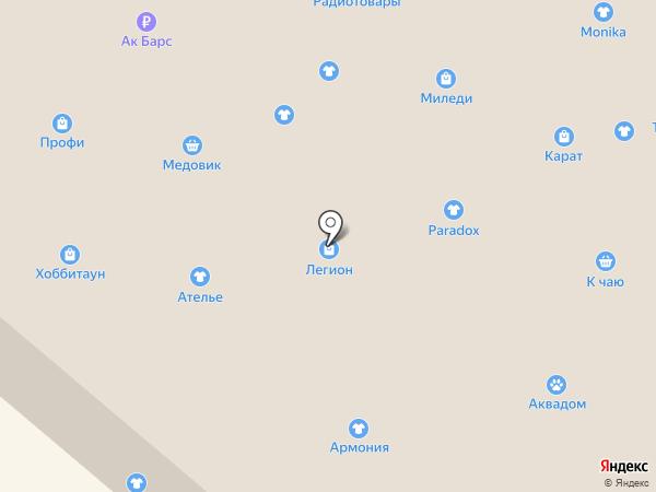Eti на карте Нижнекамска