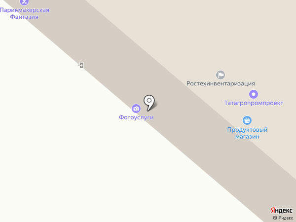 Перспектива на карте Нижнекамска