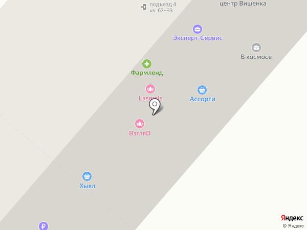 АктивДеньги на карте Нижнекамска