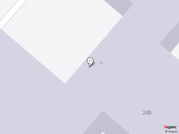 Детский сад №14 на карте Нижнекамска