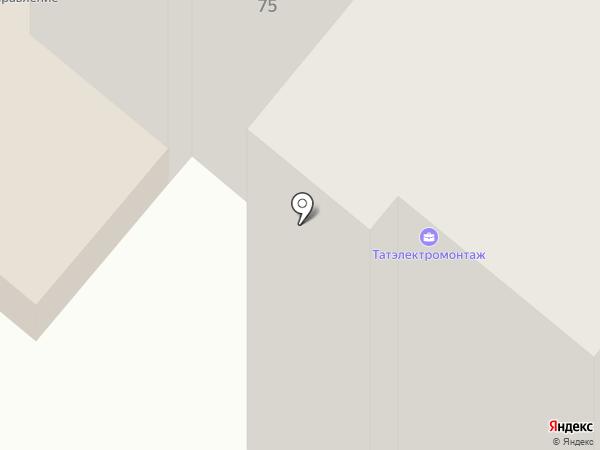 Электромонтажсервис на карте Нижнекамска