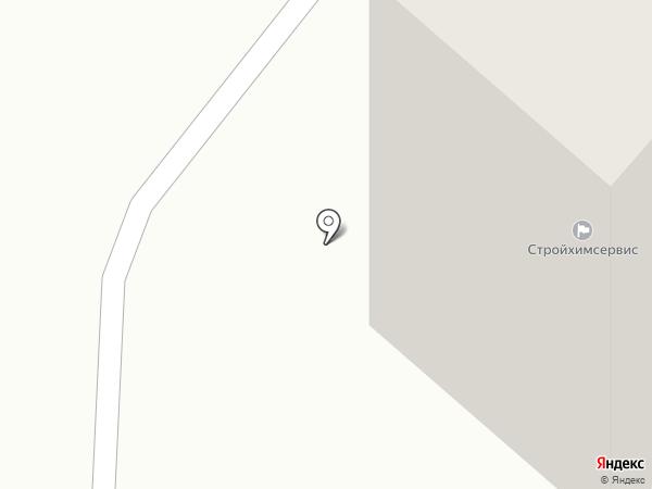 Стройхимсервис на карте Нижнекамска