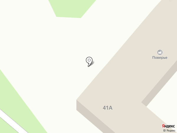 Поверье на карте Нижнекамска