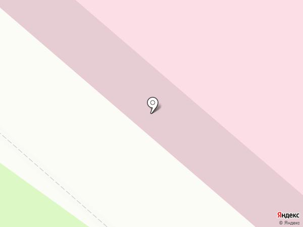 Детская поликлиника №1 на карте Нижнекамска