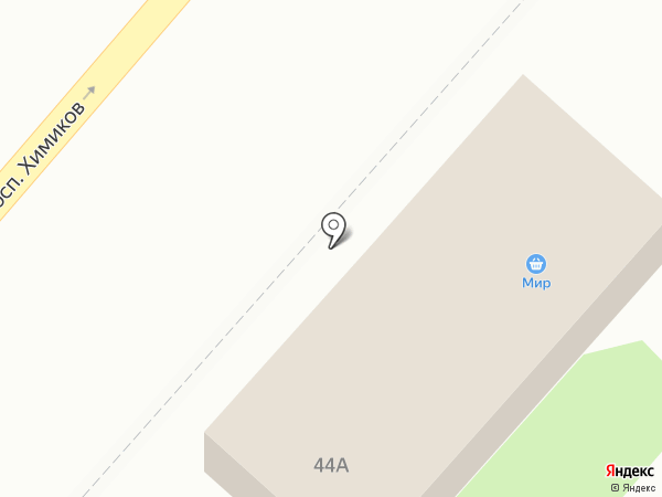 Мир на карте Нижнекамска