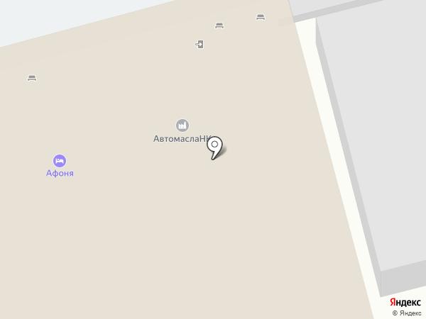 Афоня на карте Нижнекамска