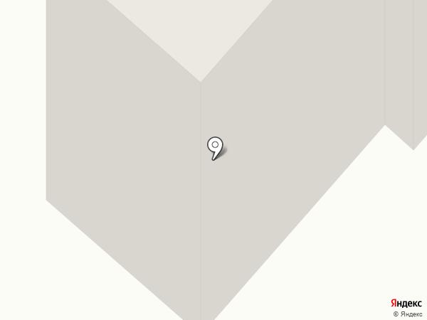 Армеец на карте Нижнекамска
