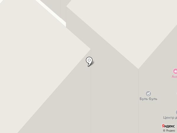 Омега на карте Нижнекамска