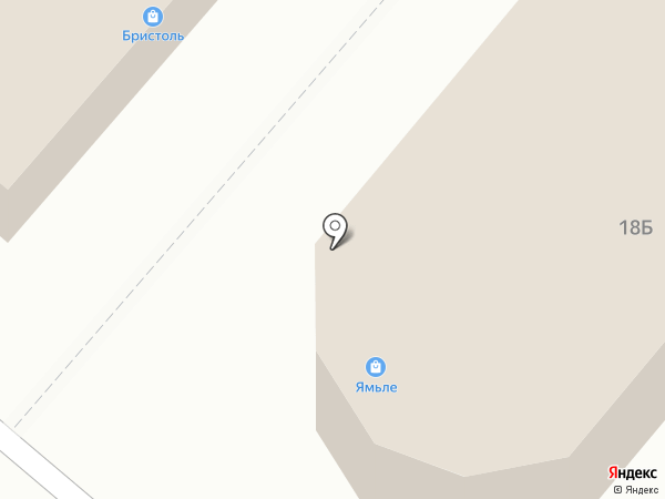 Ямьле на карте Нижнекамска