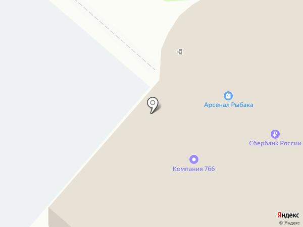 Полушка на карте Нижнекамска