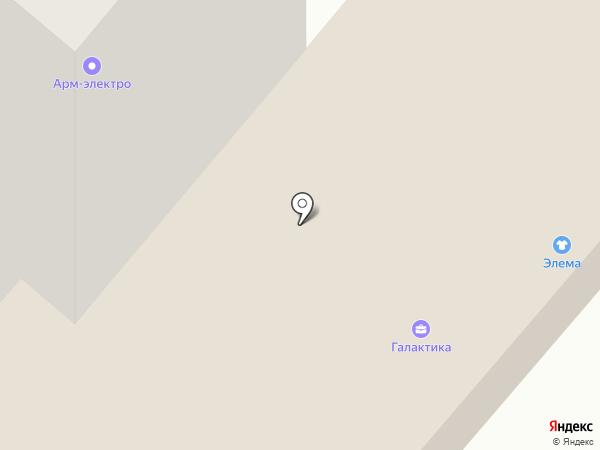 Магазин печатной продукции на Юности на карте Нижнекамска