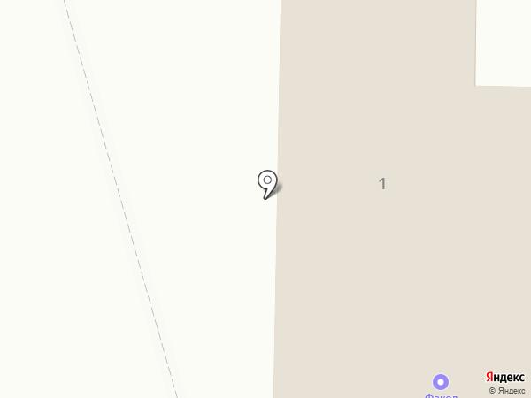 Факел на карте Нижнекамска