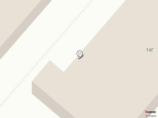 Бахор на карте Нижнекамска
