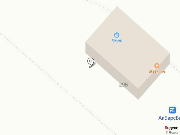 Хазар на карте Нижнекамска