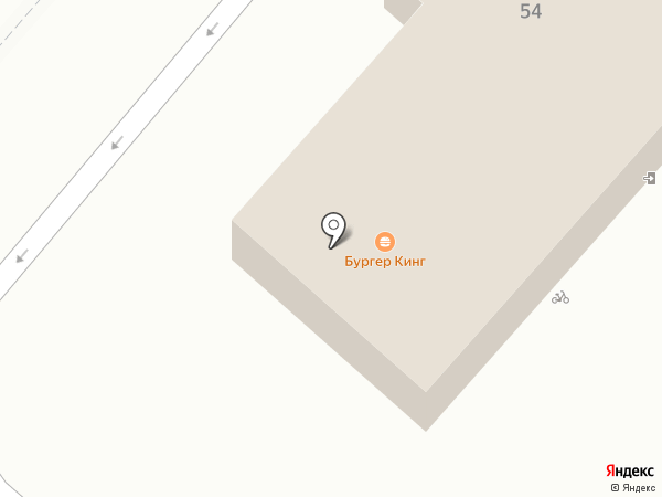 Burger King на карте Нижнекамска