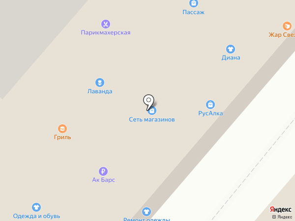 ЭкспрессДеньги на карте Нижнекамска
