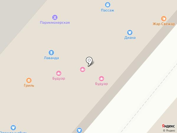 Fast Food на карте Нижнекамска