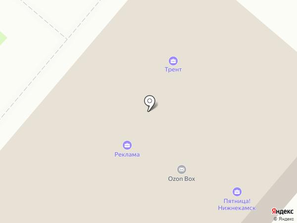 Радио Хит FM на карте Нижнекамска