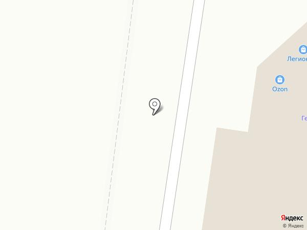 Золотая кружка на карте Нижнекамска