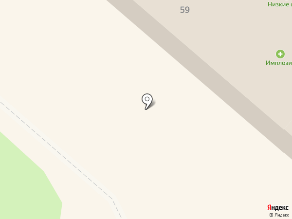 Бочка на карте Нижнекамска