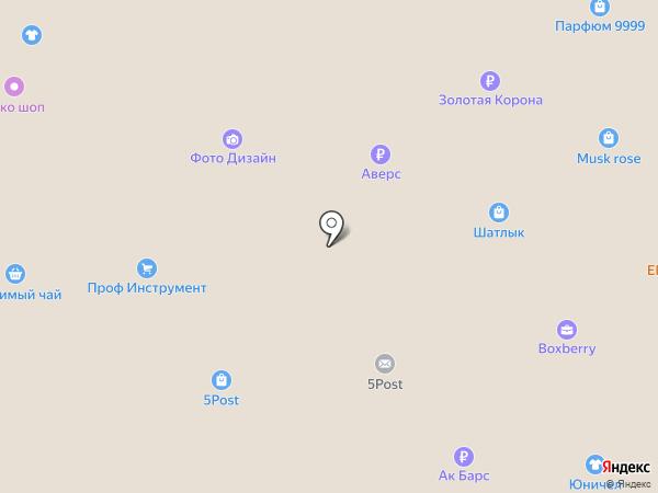 Отличные окна на карте Нижнекамска