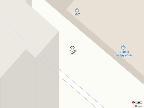 Дровосек на карте Нижнекамска