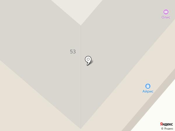 Айрис на карте Нижнекамска